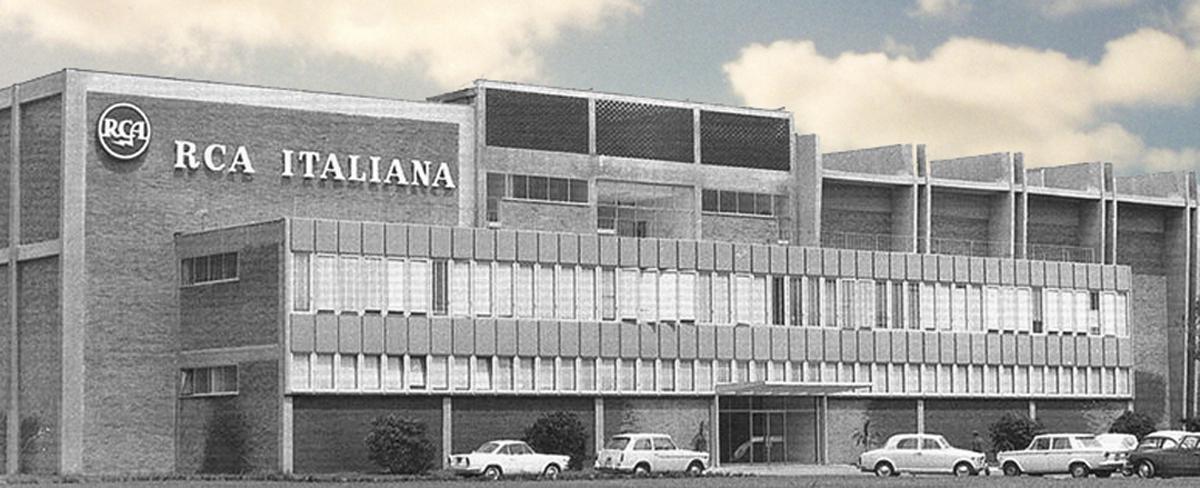La palazzina che ospitava gli studi di registrazione, l'ufficio di Olimpio e il bar