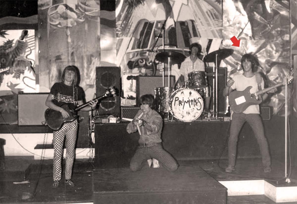 1966 - Giovanissimo con i Primitives al Piper