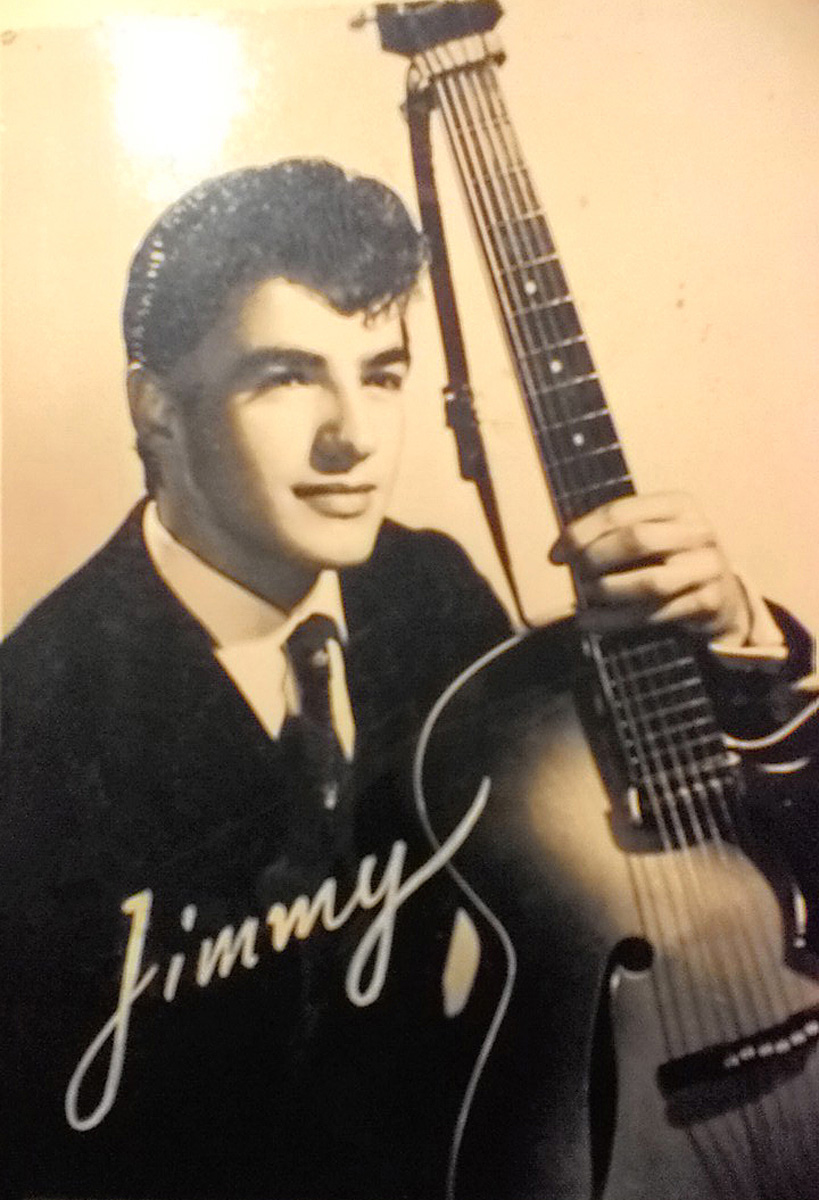 Anni 60 - Jimmy in una foto promozionale