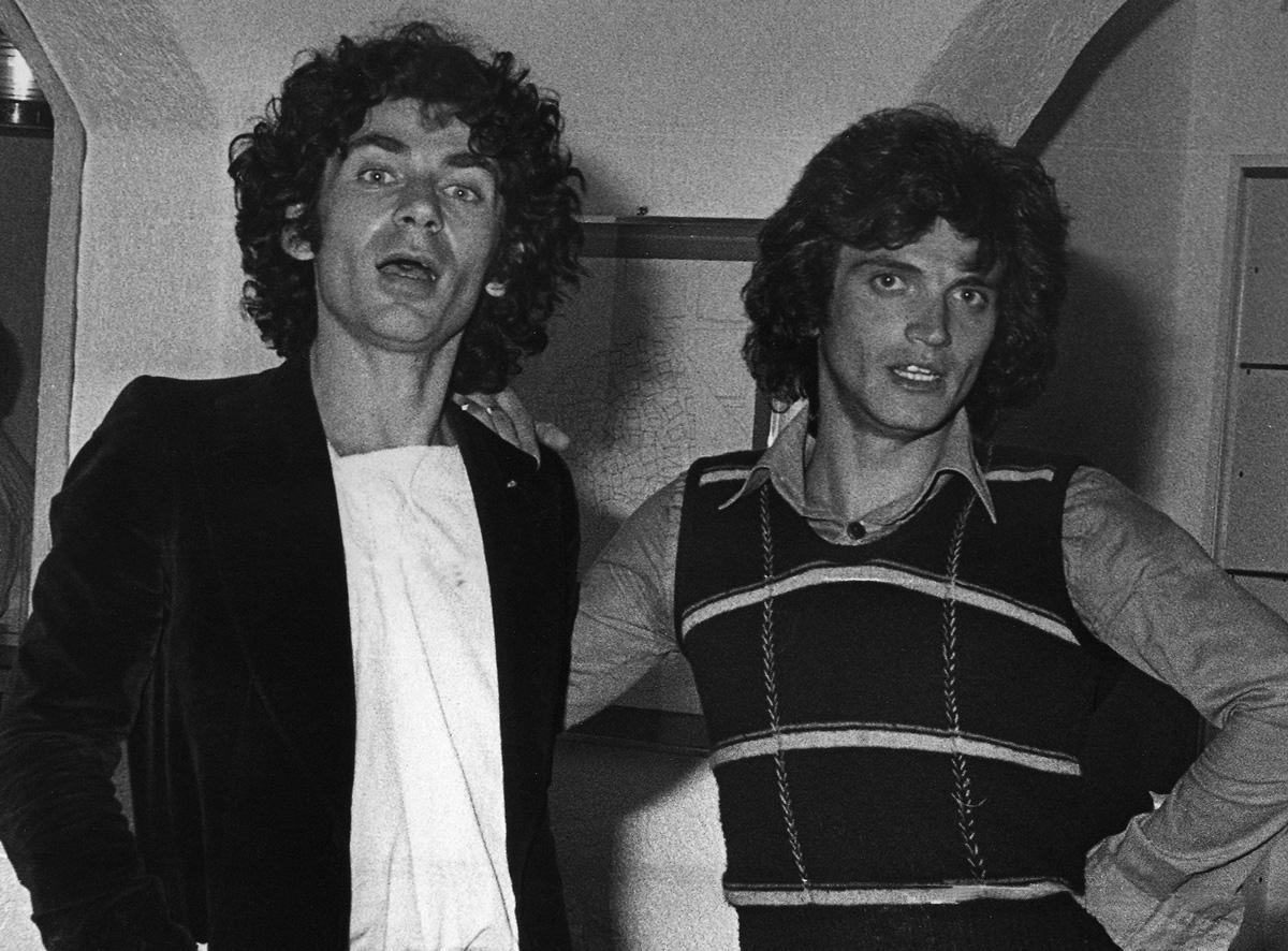Anni 70 - Con il cantautore e chitarrista Saro Liotta