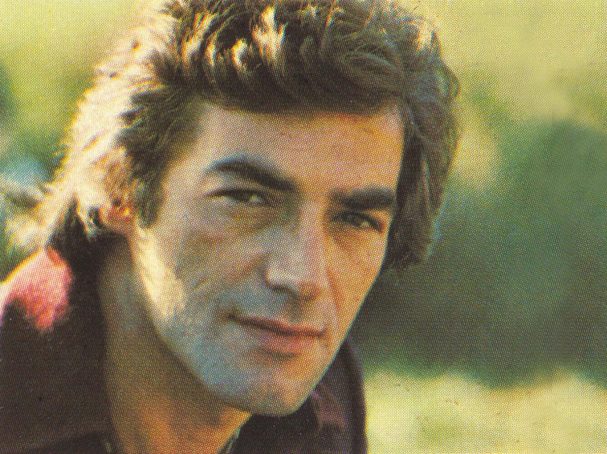 Anni 70 - Jimmy in un bel ritratto fotografico