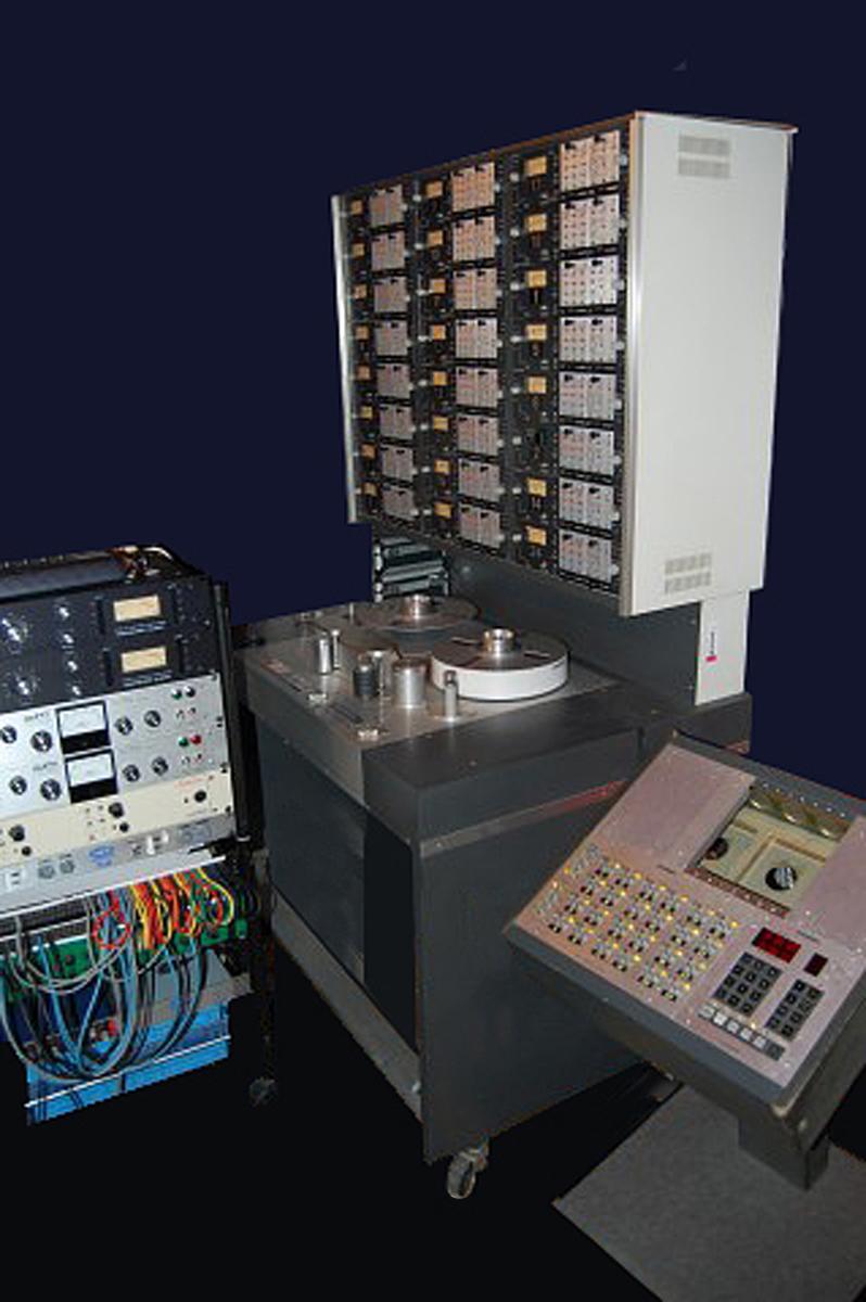 Un registratore a 24 piste