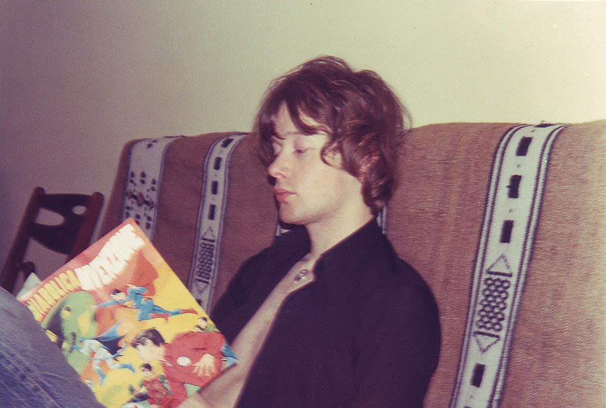 1970 - A Castiglione del Lago in compagnia degli eroi dei fumetti