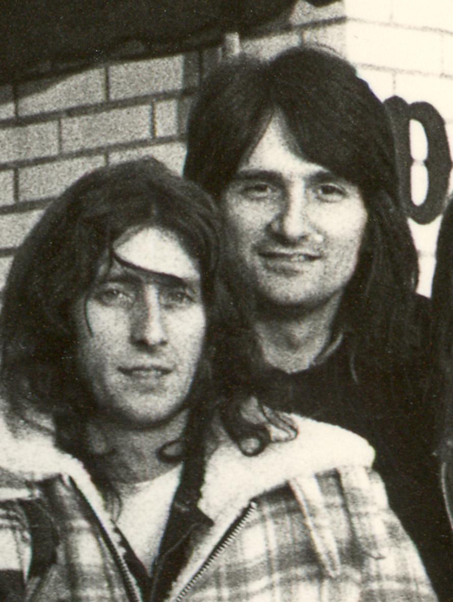 Anni 70 - Con Dougie in Canada