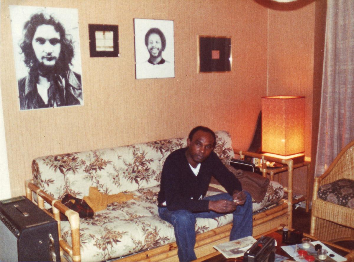 Una delle rare foto di Marvin Johnson