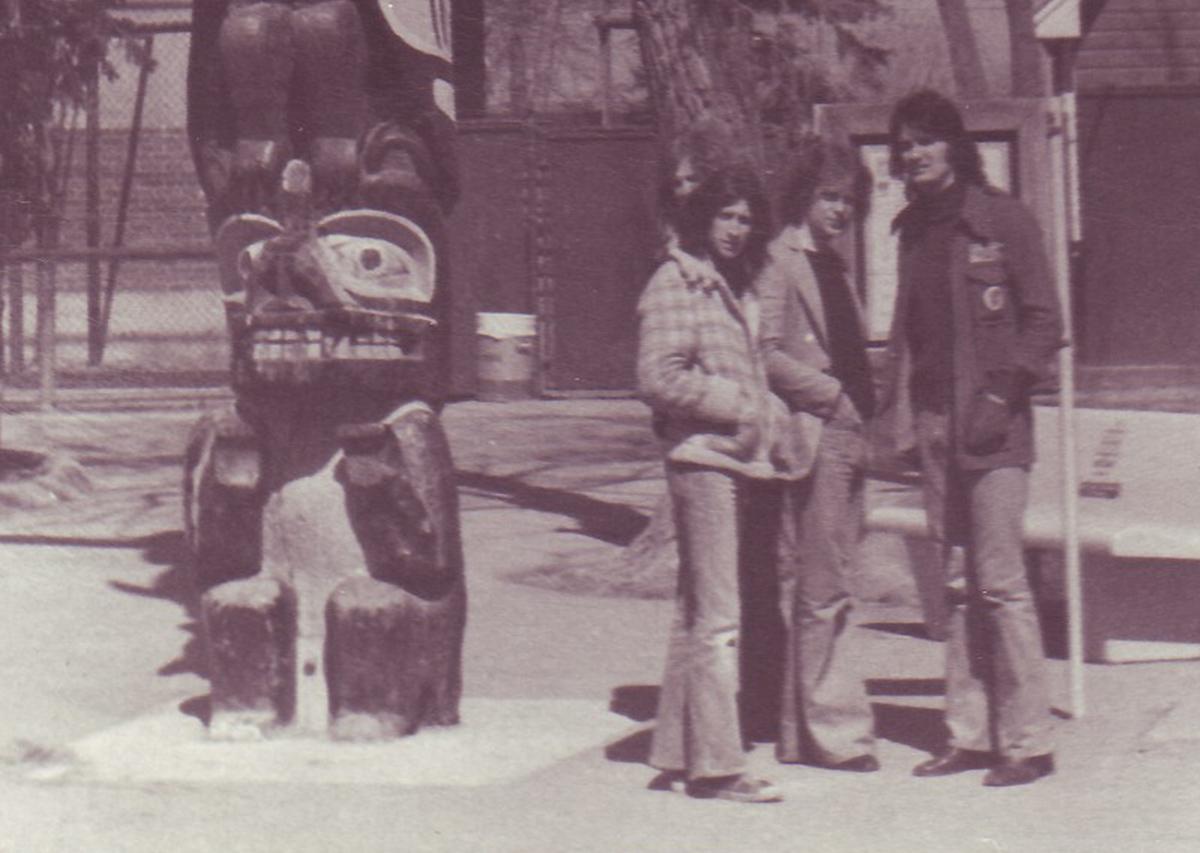 Anni 70 - Con Dougie e Mike in Canada