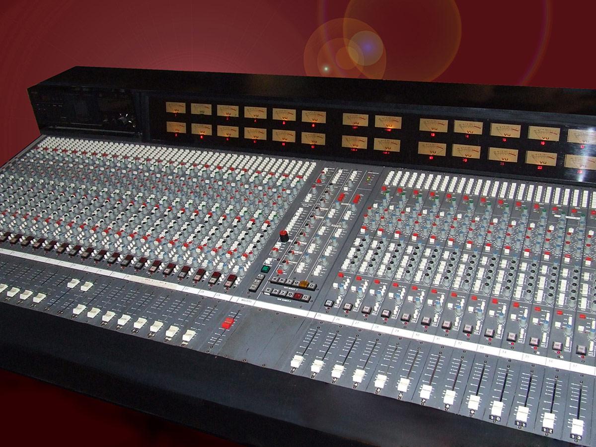 Il banco del mixer