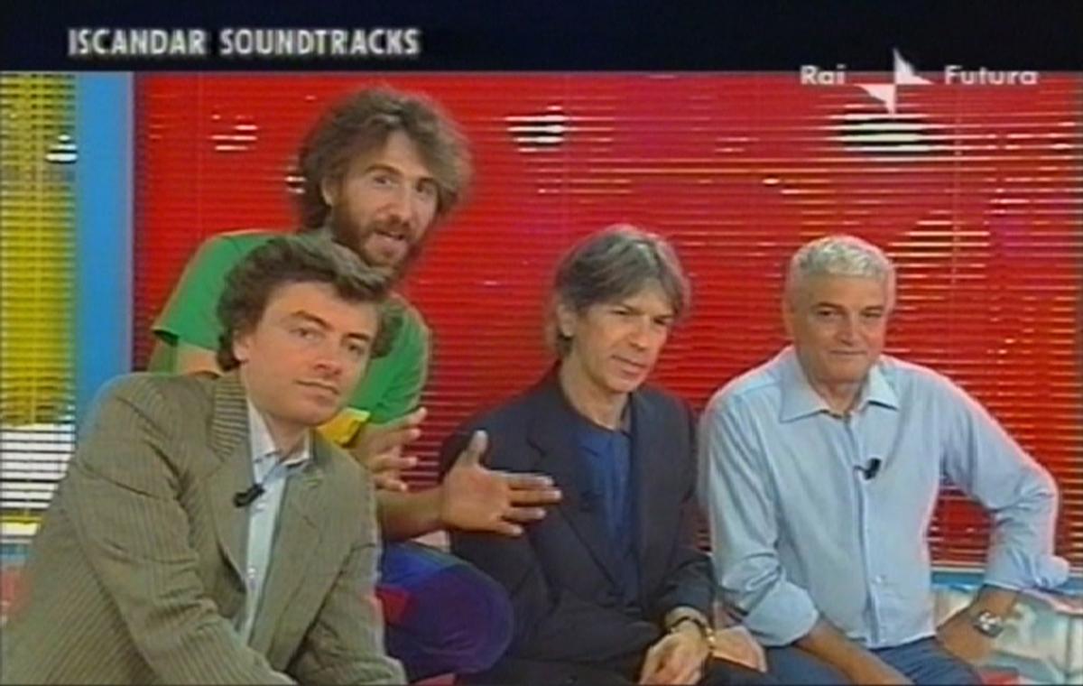 2006 - Olimpio e Lucio intervistati da Andrea Materia e Mario Bellina a RAI Futura