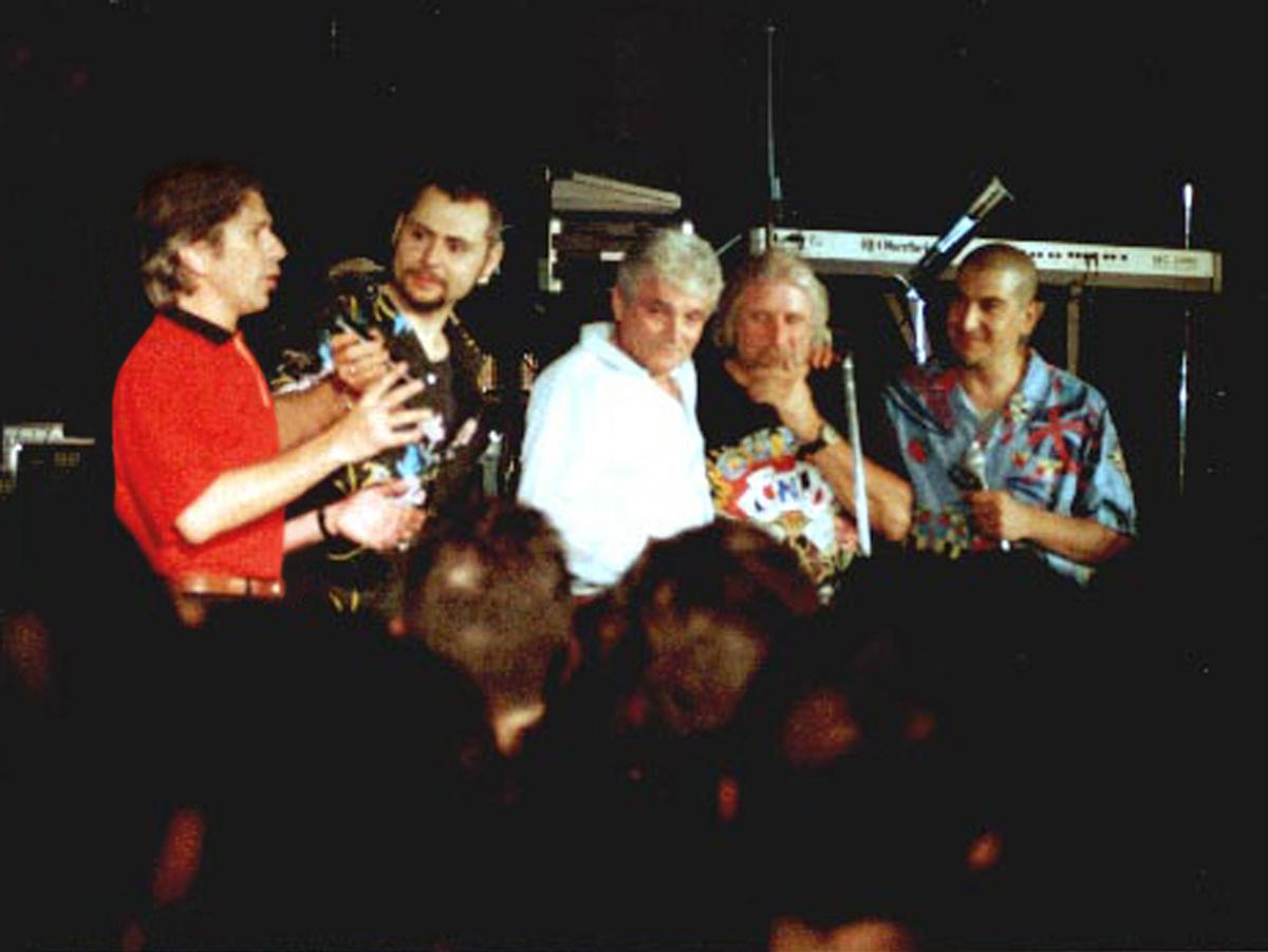 2000 - Notte delle Sigle al Piper con Olimpio e Dougie