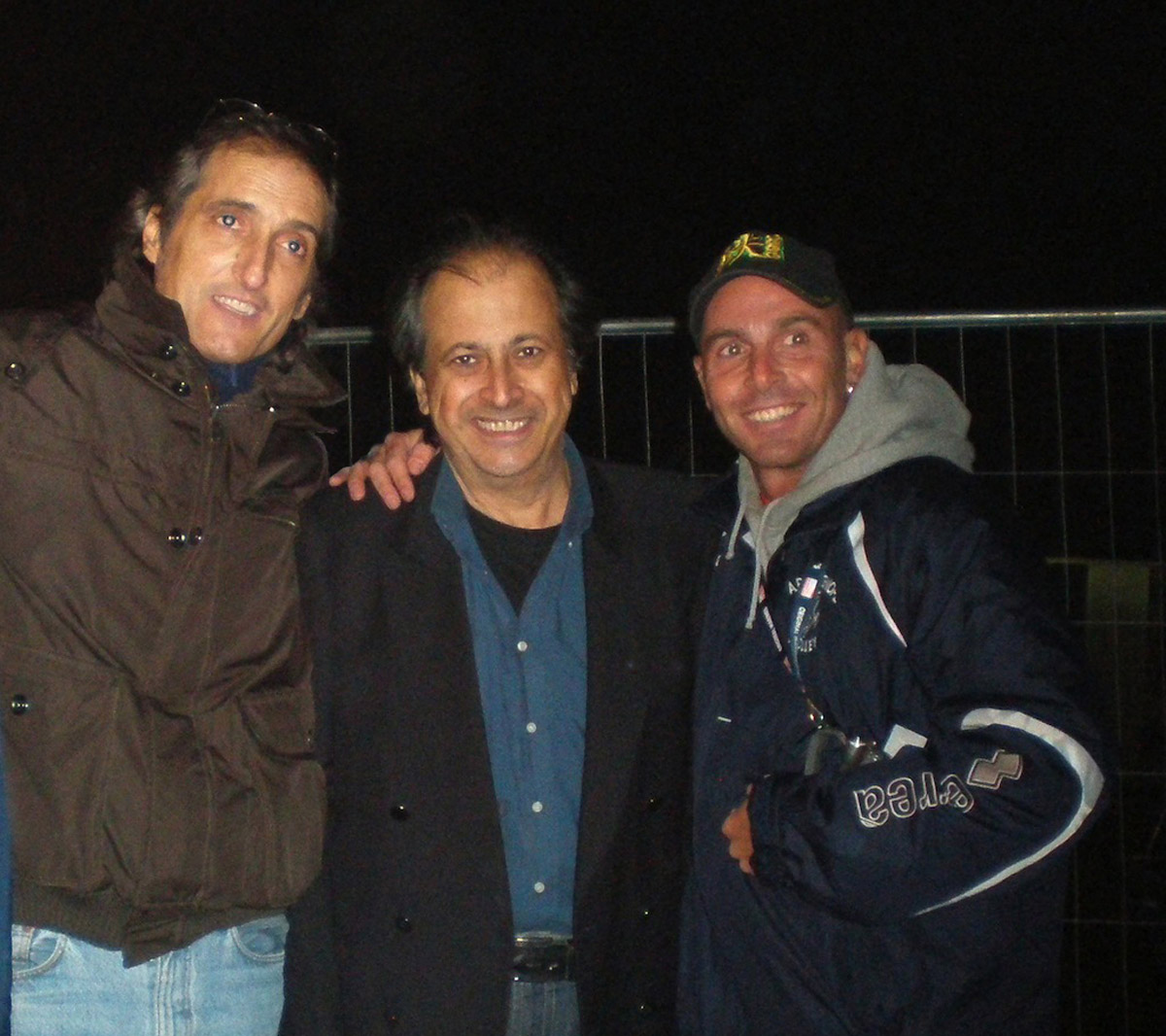2009 - Mauro e Claudio Balestra con Maurizio Nataloni