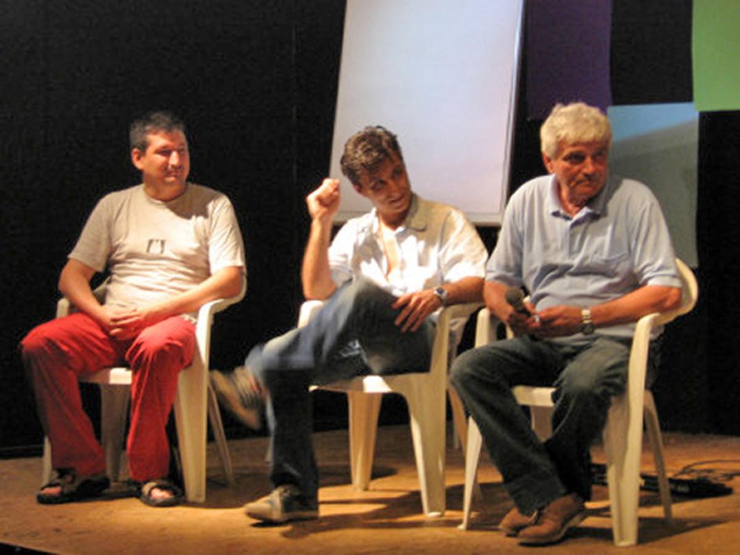 Luglio 2006 - Ospite con Franco Bianco e Max Forestieri a Gente di Cartoonia