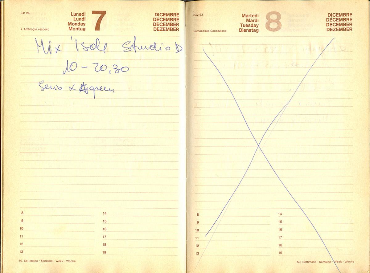 Il 7 dicembre 1981 Olimpio nello studio D realizza il missaggio delle due Isole del Tesoro