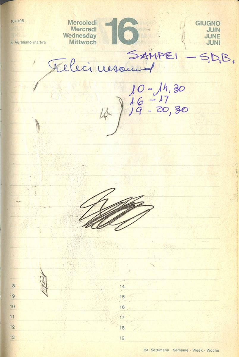 Al Telecinesound il 16 giugno 1982 iniziano le registrazioni di Sampei e Super Dog Black