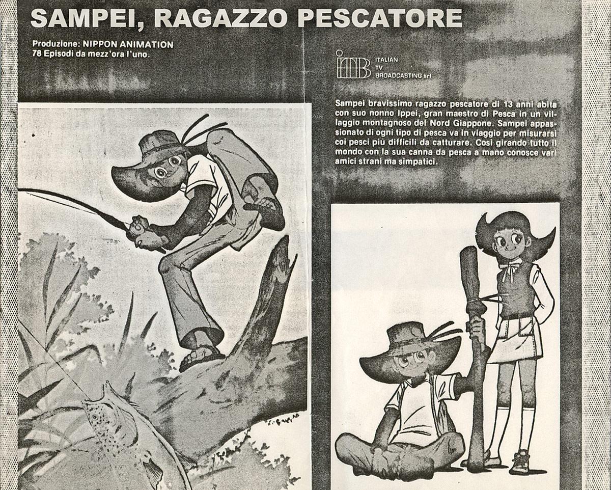 La sinopsi di Sampei, ragazzo pescatore